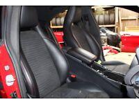 MERCEDES CLA AMG CLA45 C117 INTERIOR AMG SPORT SEATS RED STICHING SALOON MODEL