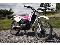 Yamaha RT100 Motocross Bike