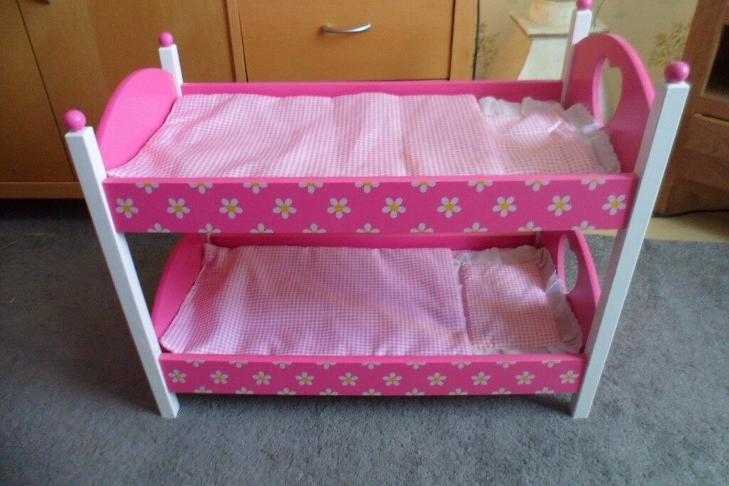 Wooden Bunk Beds Suitable For Our Generation Or Similar Sized