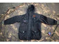 OVER DYED Black WEBTEX SAS Smock (XL size