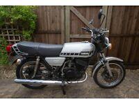 Yamaha, RD250E 1979