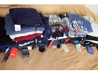 Big bundle lot Brand NEW men's clothing (60 items) various sizes