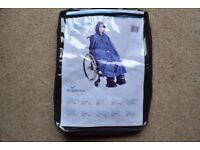 SIMPLANTEX MOBILITY WHEELCHAIR CAPE/PONCHO EXCELLENT CONDITION - MODEL CODE - MPU51