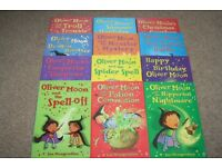 Oliver Moon by Sue Mongredien - 12 book collection - excellent condition