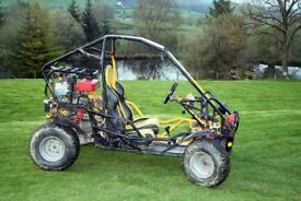 Powerful Off-Road Buggy / Go-Kart