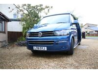 VW T5 Campervan 2L TDI -T30/140 BHP - 6 Speed /6 Seater/4 Berth - Olympian Blue Metallic -Aircon