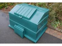 Large Coal Bunker 300kg Green Heavy Duty £75