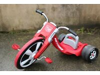 EXCELLENT CONDITION > Children's Trike Tricycle, Low ride. FUN Age 3-7 Adjustable Seat