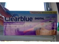 Clearblue ovulation test - brand NEW and sealed box