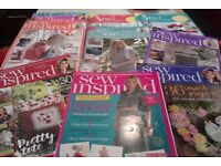 Sew Inspired Craft/Sewing Magazines