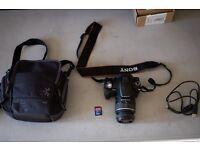sony a230 dslr digital camera