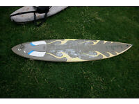 Custard Point Surfboard 6ft7 in good condition