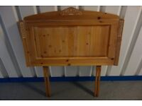 M&S Limed Pine 2 x Single Headboards - Used - Superb Condition - £175 in total