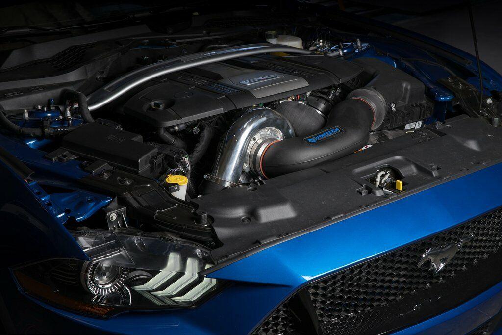 Vortech Ford Mustang GT 5.0L 2018 V-7 JT Satin Supercharger Intercooled Tuner