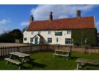 Waiting Staff required for the Greyhound Inn Pettistree