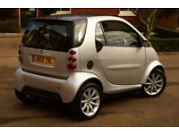 2005 SMART FOR TWO CITY PASSION 61 AUTO ( FORTWO ) / AUTOMATIC / 12 MONTHS MOT / TAX £30 PER YEAR