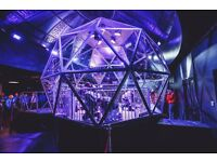 x7 tickets for The Crystal Maze Manchester