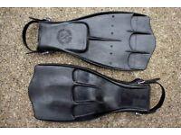 Scubapro Jet Fins - Professional Divers' swim fins, black, large