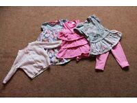 Baby Girls Bundle size 6 - 9 Months