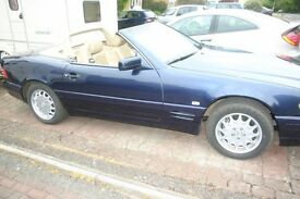 MERCEDES BENZ 320SL, SENSIBLE OFFERS OVER £3200 .00 CONSIDERED