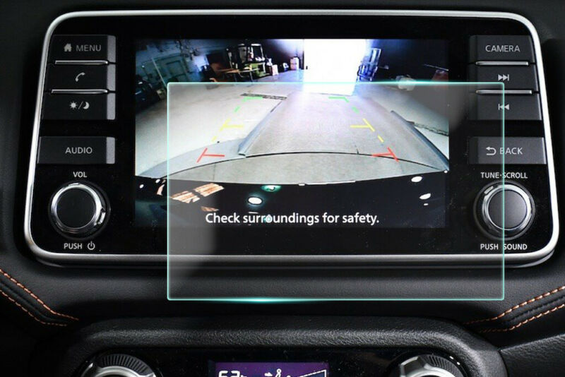 Crystal Clear Screen Protector for 2020 Nissan Versa 5in Vehicle Navigation