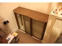 Glass Doored small cabinet, 91cmx77cmx33cm. Collection Preferred