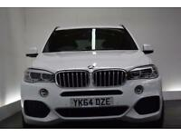 BMW X5 3.0 XDRIVE40D M SPORT [BMW MAINTENANCE PACK] 5d AU (white) 2014