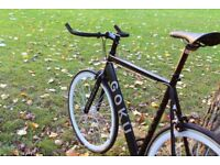 Special Offer GOKU cycles ALLOY / STEEL Frame Single speed road bike TRACK fixed gear bike WW9
