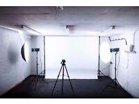Photography Studio Hire Croydon (Equipment included)