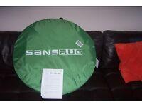 New SansBug 3-Person Screen Shelter (Tarp Floor) / Free-standing Pop-up Mosquito Net Tent