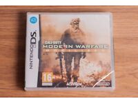 UNOPENED FACTORY SEALED NINTENDO DS GAME CALL OF DUTY MODERN WARFARE MOBILIZED