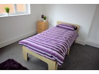 Newly Refurbished Quality En Suite Bedrooms to Rent in Worksop Bedroom available to let