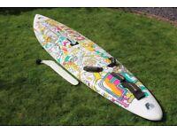 f2 comet slalom windsurfing board