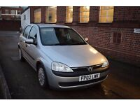 vauxhall corsa 1.7 cdti low milage, long mot cheap to run and tax, BARGAIN AT THIS PRICE!!!!