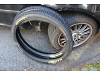 Pair Maxxis High Roller 26 x 2.35 in excellent condition