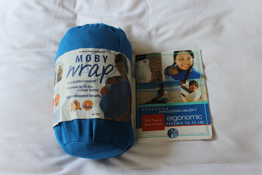 Original Moby Wrap With Carry Case And Instruction Manual In