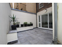 newly renovated two double bedroom apartment with private patio garden in a Victorian conversion