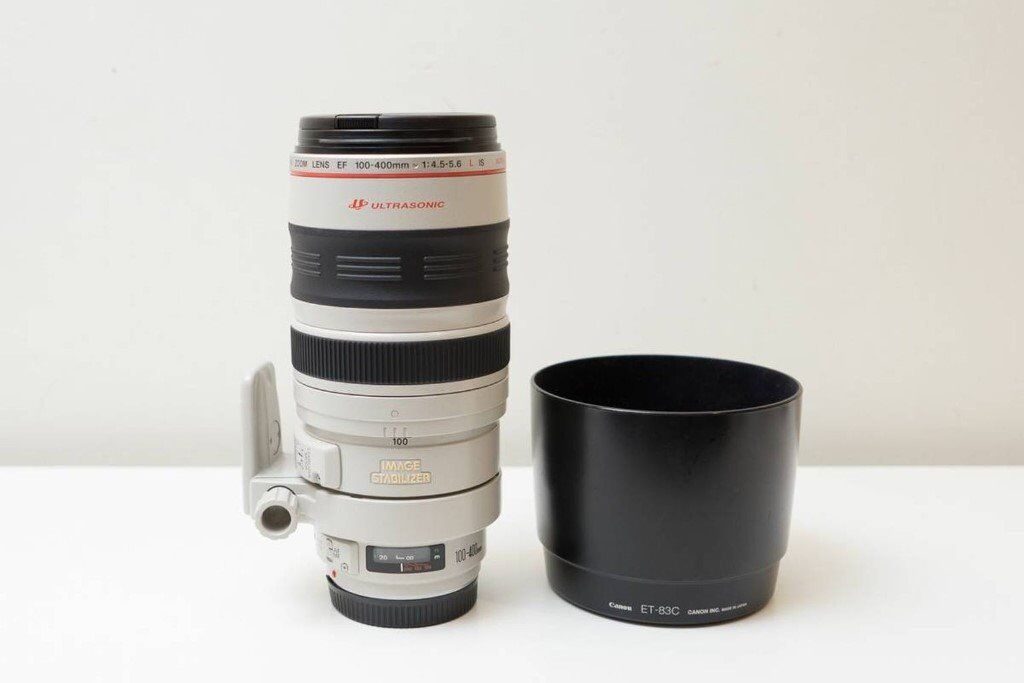 Canon EF 100-400mm f4.5-5.6 IS L series lens