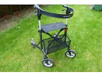 Stroller which can be folded for travel or storage