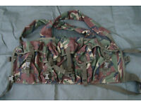 NEW - DPM Woodland Camo Highlander Chest Rig / Chest Webbing