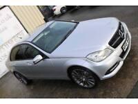 LATE 2012 MERCEDES C220 CDI BLUEEFF EXECUTIVE SE 168BHP AUTO *NIGHT ED SPEC* (FINANCE & WARRANTY)