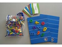 magnetic boards with letters + word cards bundle.