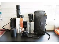 Nikon D810 Top of the range DSLR Camera, 3 x Lenses & various extras - see list