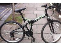 Folding bike almost new (Stowabike)