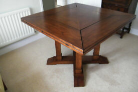 Table. Dining. Extendable. Mature cherry