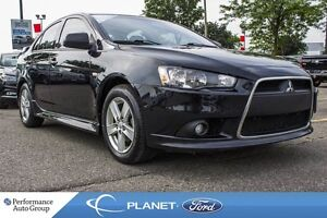 2013 Mitsubishi Lancer GT|ROOF|HTD SEATS|LEATHER|SAT RDIO|ALLOYS