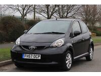 TOYOTA AYGO 1.0 BLACK VVT-I 5DR MANUAL - 6M WARRANTY INC - MOT FEB 2018