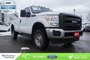 2016 Ford F-250 XL 4X4 FORD CERTIFIED LOW RATES & EXTRA WARRANTY