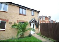 SPACIOUS UNFURNISHED 3 BEDROOM SEMI DETACHED HOUSE IN HAMWORTHY WITH 2 OFF ROAD PARKING SPACES