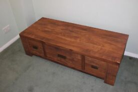 Coffee Table / Trunk with Drawers